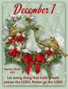 Psalm December 1 Quote december quotes and sayings christmas holiday december 1 december December 1st Quotes, Welcome December Quotes, December Images, Happy December, Hello December, December Daily, December Wishes, Christmas Bible Verses, Christmas Quotes