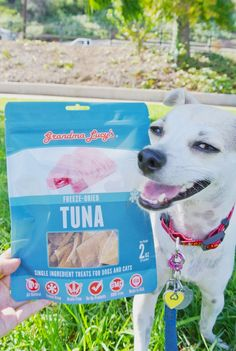 Dog Gone Fishing?! Grandma Lucy's All Natural Dog Treats Review!! | HAPPY HAZEL  Shop all of Grandma Lucy's #freezedried #organic edibles at www.feedpetpurveyor.com