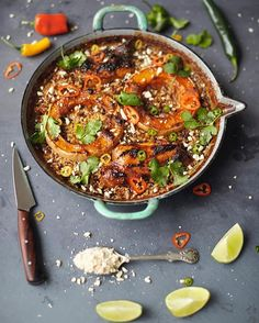 Roasted squash laksa bake with chicken, lemongrass, peanuts and rice! Serve with a fresh side salad. Great dinner for 2 recipe from my Everyday Super Food book. Xx J