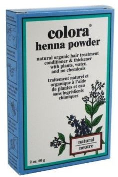 Colora Henna Powder Hair Color Natural, 2 oz (Pack of 12) ** Click image for more details. (Amazon affiliate link)
