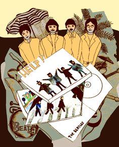 the Beatles by  Qing Zhu