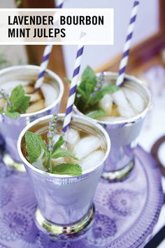 When it comes to Derby cocktails, these Lavender Bourbon Mint Juleps have it all—refreshing flavor, tradition, and bourbon! Grab all the ingredients you need at BevMo! to start your spring party off on a delicious note.