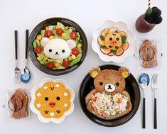Rilakkumar & friends themed dinner by  @meba_sj)