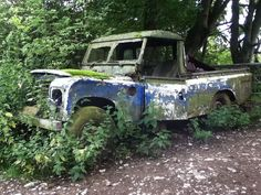 Land Rover 109 Serie III Pick-up. Abandoned. Nice as is too.