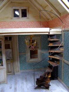 How To: Miniature Spiral Staircase