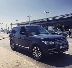 Beautiful black Range Rover