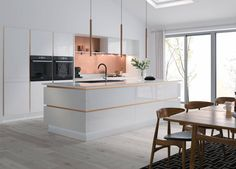 View our Handleless Kitchen in Cream and Charcoal. Explore the full Infinity Plus collection and design your new bespoke Wren kitchen. Kitchen Sale, Shaker Kitchen, Kitchen Units, Kitchen Ranges, Kitchen Drawers, Kitchen Cabinets, Wren Kitchen, Country Kitchen, Layout Design