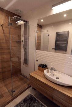 Ideas para reciclaje 36 Suprising Small Bathroom Design Ideas for Apartment Decorating Bathroom Design Small, Bathroom Interior Design, Modern Bathroom, Bathroom Ideas, Rustic Bathroom Shelves, Bathroom Storage Shelves, Bathroom Design Inspiration, Shower Remodel, Home