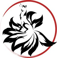 Kitsune within a circle Anime Tattoos, Wolf Tattoos, Disney Tattoos, Cute Tattoos, Body Art Tattoos, Tribal Tattoos, Fox Tattoo Design, Tattoo Designs, Tatoo Naruto