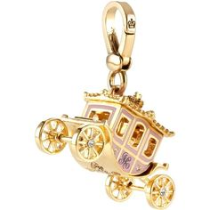 Juicy Couture Princess Pink Carriage Charm (4.070 RUB) ❤ liked on Polyvore featuring jewelry, pendants, charms, accessories, fillers, juicy, charm pendant, juicy couture jewellery, pink jewelry and juicy couture