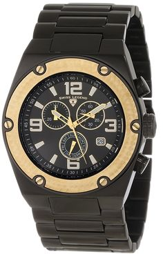 Swiss Legend Men's 40025P-BB-11-GB Throttle Chronograph Black Dial Watch *** Find out more about the great watch at the image link.