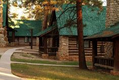 Book Guide to National Parks Lodging: Staying overnight in a national park lodge is a excellent way to enhance the experience of a national park visit. The lodges are generally situated in scenic areas where guests are able to enjoy a variety of activities and experiences. Several lodge dining rooms, including those in Yosemite's Ahwahnee and the North Rim's Grand Canyon Lodge, are magnificent.