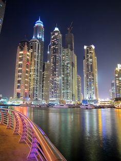 Dubai Marina by vreditel, via 500px