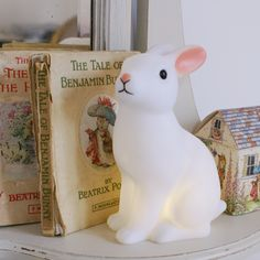 Rabbit Night Light. The Chic Country Home