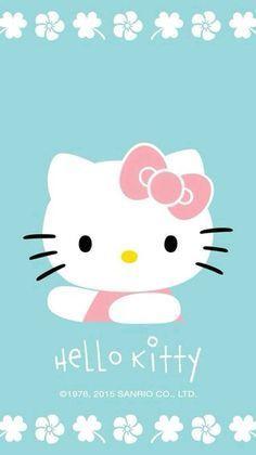 Hello Kitty Art, Hello Kitty Themes, Hello Kitty My Melody, Hello Kitty Pictures, Hello Hello, Hello Kitty Iphone Wallpaper, Hello Kitty Backgrounds, Sanrio Wallpaper, Ipod Wallpaper