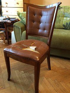 Handmade from NataliSha: Полная реставрация стула на заказ