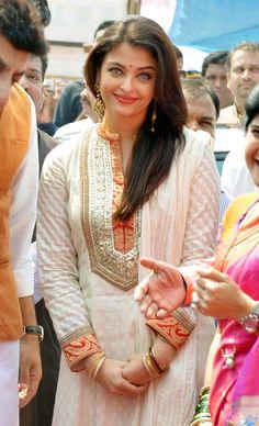 Aishwarya Rai Bachchan celebrates Gudi Padwa                              …