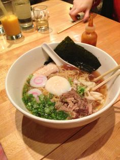 TO TRY: Momofuku Noodle Bar- this place has been on my list of places to set for a while