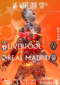 Champion League, #LFC vs Madrid