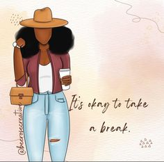 Take A Break, Take That, Its Okay, Cute Drawings, Leather Pants, Clip Art, Wonder Woman, Superhero, Quotes