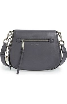 MARC JACOBS 'Recruit' Pebbled Leather Crossbody Bag available at #Nordstrom