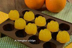 A konyha világa: Narancsos zselé-gumicukor