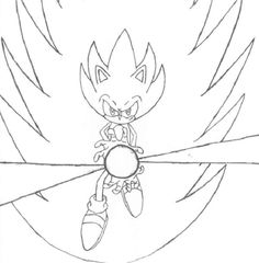 best classic super sonic coloring pages photos - printable ... - Classic Super Sonic Coloring Pages