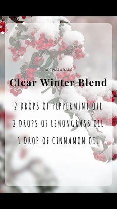 Clear Winter Essential Oil Blend