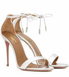 Dasha 105 leather sandals | Aquazzura