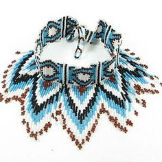 AAA Native Arts Gallery : Turquoise, Brown & White Eye of God ...