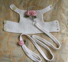 Faça uma coleira de crochê