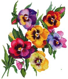 Pretty Flower Tattoos, Flower Tattoo Designs, Embroidery Flowers Pattern, Ribbon Embroidery, Art Floral, Fleur Pansy, Canvas Painting Projects, Flower Art Drawing, Ribbon Flower Tutorial