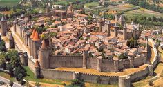 Top 25 Medieval Cities In Europe: The best preserved Medieval cities in Europe to visit range from small villages with fairy tale castles to large walled cities. Here are the top 25 Medieval towns to see in Europe! France City, South Of France, Carcassonne France, Hello France, Cities In Europe, Medieval Town, Medieval Castle, City Landscape, Travel Light