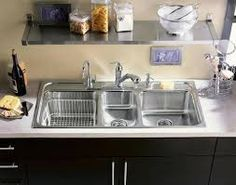 Image result for triple sink
