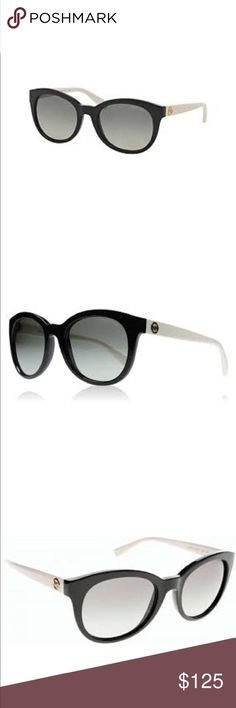 Michael Kors Sunglasses  MK6019 Champagne Beach GENDER Womens  SIZE M  FRAME Black with off white arms  LENS Graduated grey  PRODUCTS NAME Michael Kors Sunglasses Champagne beach  GUARANTEEOfficial Michael Kors Sunglasses 2 year guarantee?  MANUFACTURERS CODEMK6019 305211 53  SHADE STATION CODE 51826  PACKAGING  Official Michael Kors Sunglasses packaging.  53mm X 20mm X 135mm Michael Kors Accessories Sunglasses