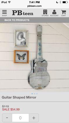 Love the guitar mirror