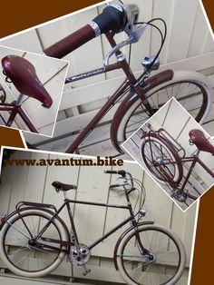 #Retrovelo classic series, en Chocolate. www.avantum.bike/retrovelo