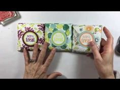 Welcome to Day 6 of my Punch Board Series! Today we're making an easy-to-make Treat Pouch. It's really just an envelope but when you add something inside with a Hannelore Drews, Wedding Gift Bags, Wedding Favors, Party Favors, Envelope Punch Board Projects, Order Stamps, Paper Bag Design, Diy Christmas Gifts, Christmas Wrapping
