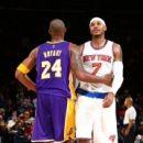Knicks beat Lakers spoil Kobe's potential MSG finale (Yahoo Sports)