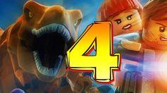 LEGO Jurassic World 3DS  / PSVITA FREEROAM WALKTHROUGH PART 4 Triceratop...