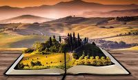 Tuscany,Italy:Tourist Travel Guide to Holidays in Tuscany,Toscana,Italia - Discover Tuscany Philip Pullman, Story Structure, Premade Book Covers, Open Book, Tuscany Italy, 3d Wallpaper, Computer Wallpaper, Fantasy World, Belle Photo