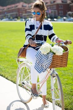 White and stripes #summer