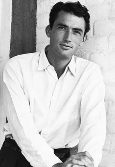 Gregory Peck. My mother always said that my darling J'imrie of blessed memory reminded her of Gregory Peck.