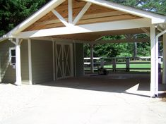 Get inspired by photo about carport ideas attached to house. best custom wood carport & open carport design for your lovely home. Building A Carport, Carport Kits, Carport Plans, Carport Garage, Pergola Carport, Shed Plans, Gazebo, House Plans, Carport Canopy