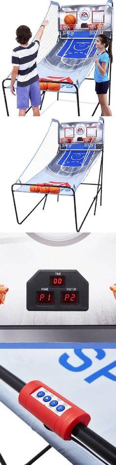 Other Indoor Games 36278: Indoor Basketball Arcade Game Electronic Mini Hoop Double Shot Machine Xmas Gift -> BUY IT NOW ONLY: $78.44 on eBay!