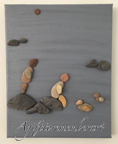 """Serenity"" #agifttorememberart #serenity #pebbleart #friends #river #water…"