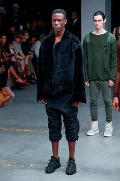Kanye West x Adidas Originals Look #1 - Yeezy Season 1 Fall / Winter 2015 / 2016 show during New York Fashion Week