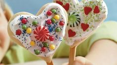 "Express your love in a new way by making these delicious ""I Love You"" Cookies – perfect for Valentine Day."