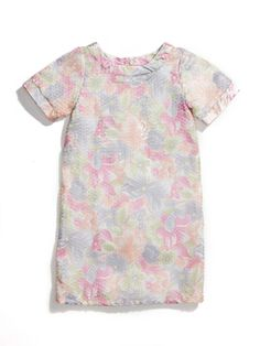 Multi Floral Short Sleeve Dress by Laundry by Shelli Segal on sale now on Gilt.