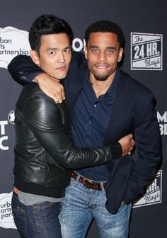 John Cho and Michael Ealy